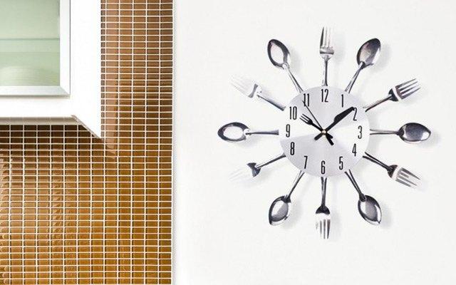 Kuhinjska stenska ura
